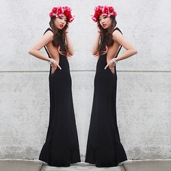 Christine Hsu - Tobi Maxi Dress - FEEL THIS MOMENT//FLOWER CROWN GIVEAWAY!