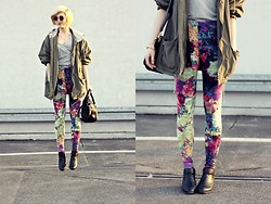 Lidia Nawara - All, Sh Jacket, H&M Shoes - Flowers