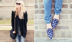 Tessa M - Zara Shoes, Olivia Harris Bag - Heyday