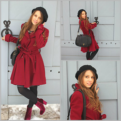 Polina Lobanova - Asos Coat - How I look in ordinary life