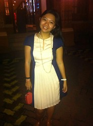 Louie Belle Regente - Forever 21 Pearl, Mango Pleated Dress - A Blessed Day