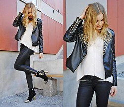 Frida Johnson - Choies Jacket, Choies Boots - HTTP://NYHETER24.SE/MODETTE/FYNDIGT