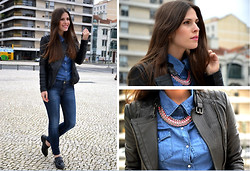 Filipa Gameiro - H&M Necklace - Denim On Denim
