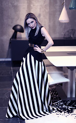 Silvia P. - Strike A Pose Vest, Strike A Pose Skirt - Stripes