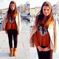 Marie M. - Topshop Wolf Jumper, Ugg - We Are Shining In The Rising Sun