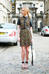 Abby OW - Jason Wu Dress, Paul Smith Bag, Topshop Heels - No Quarter LFW AW13 Somerset House