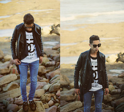 Driss Khadim - Black Milk Clothing 5 Preview, Zara, River Island, H&M, Crepeers Leopard, Persol - Pleasure delay !