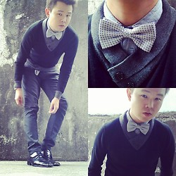Anthony Shieh - U2 Shirt, Pierre Cardin Bowtie, Bluecamp Sweater, Oxygen Slacks, Wade Smart Shoes - We were ready to behave.