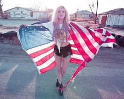 Katie Dallas - Melacine Moon Shorts, Jeffrey Campbell Shoes - My Home is Wherever I'm With You