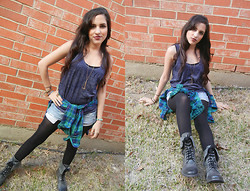 Melody Danian - Forever 21 Tank - Mad for Plaid
