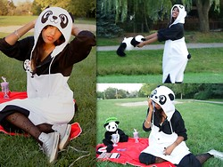 Menaka Iyer - Panda Onesie - Pandamonium- Vote to become the Next Much Music VJ