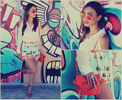 Jessica Tuong - Finders Keepers The Label Shorts, Ray Ban Sunglasses - Baby, in the Summertime...