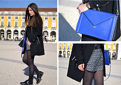 Filipa Gameiro - Zara Bag - ELECTRIC BLUE
