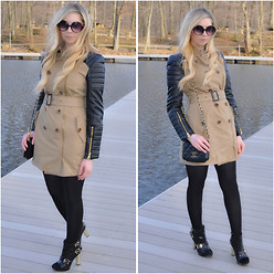 Kelly Dillon - W118 By Walter Baker Trench, Christian Siriano For Payless Booties, Chanel Bag, Target Sunnies - TRENCHED