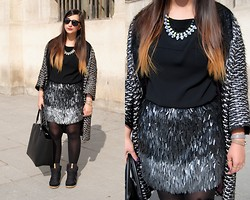 Rani Multani - Marc By Jacobs Leather Double Tour Bracelet - PFW: day 3