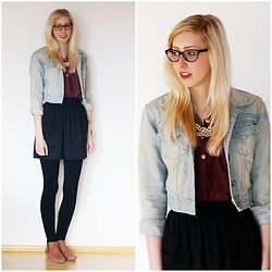 Vera S. - American Apparel Skirt, Vero Moda Blouse, Pimkie Shoes - Jeans