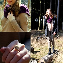 Myriam S. - H&M Sweater - In the woods