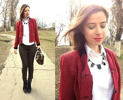 Nika Y - Petite Perceptions Jacket, Necklace - Dreaming of London
