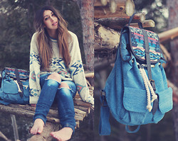 Alicia Raffin - Aztec Backpack - WIN THE AZTEC BAG GIVEAWAY