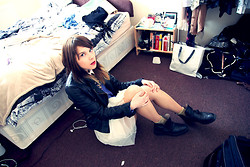 Dagmara R - Topshop Jacket, Zara Boots - Lost in my bedroom