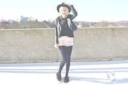 Chiara Preger - H&M Jacket, H&M Shorts - Our hearts, they beat and break.