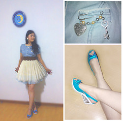 Jessie Yin - Dress, Brooch, High Heels - Love you like a love song