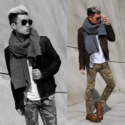Alexander Liang - Ralph Lauren Sunglasses, H&M Scarf, Aldo Boots - Fly Into Spring