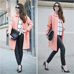 STYLISSIM . - Primakr Jacket, Zara Shirt, Zara Pants - PLAID + FLUOR JACKET