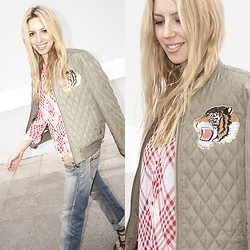 Filio Metsi - Blanco Jacket - Kiss me tiger