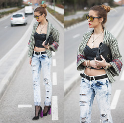 Andrea Gomez - Zara Jacket, Zara Heels, Marc By Jacobs Bag - ROCKER LADY