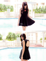 Maricar De Dios - Style Stunner Manila Dress - Little Black Dress