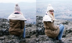 Vera S. - Divided Beanie, Parka, Cheap Monday Jeans - Wanderlust
