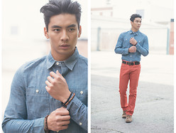 Yoshi Sudarso - Levi's® 501 - Close Your Eyes