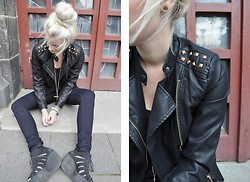 Carly Beljajew - Oasap Leatherjacket - Hello leather.