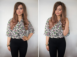 Emma Woodley - Asos Paisley Print Shirt, Topshop Joni Jeans, Juicy Couture Watch - Paisley Print