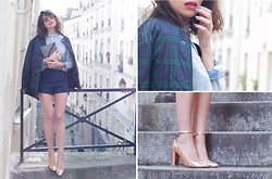 Aurelia / Fashion is a Playground - Eleven Paris Total Look, Zara Heels - Fifty-fifty