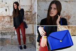 Filipa Gameiro - Zara Bag - RED CRUSH