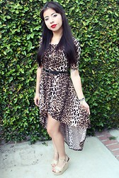Chelle G - Online Scorpio Necklace, Foreign Exchange Dress, Forever 21 Wedges - Do you wanna dance