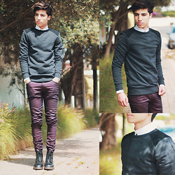 Ayoub Mani - H&M Sweatr, Zara Jeans, Zara Shirt, Dr. Martens Boot Dr - Feels like saving the world