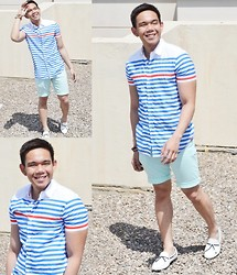 Lo Pascual ⚓ - Iconic Shirt, Iconic Shorts - Fun Under The Sun