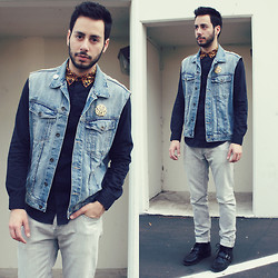 Reinaldo Irizarry - Topman Shirt, H&M Vest, Burberry Jeans, Ralph Lauren Boots - TELL ME SOMETHING ABOUT ME