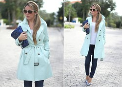 Mónica Sors - Queens Wardrobe Trench, Ravel Shoes - Glitter your mint