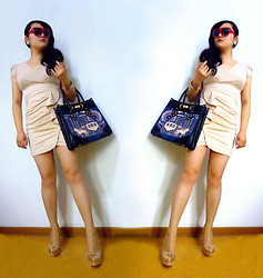 Jessie Yin - Ray Ban Sunglasses, Bag, High Heels - Mirror,mirror