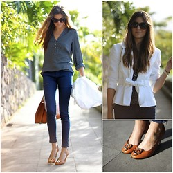 Marianela Yanes - Pimkie Blouse, Zara Pants, Gucci Bag, Gucci Shoes - They say Gucci