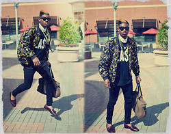 Kaelin Davis - Easy Money Tee Shirt, Chanel Inspired Jacket, Skinny Jeans, Loafers - It's That EA$Y.