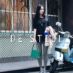 Zi Qiang - The Muse, Dex & Em - TODAY'S OUTFIT