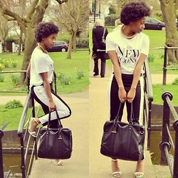 Uzy Nwachukwu - Topshop Bag, H&M Trousers, H&M Top - The New Icons...