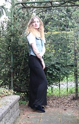 Elisa J. - H&M Maxi Skirt - Maybe we´ll run, but maybe we´ll stay and defend