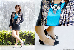 Ella Canave Anung -  - TEAL AND TRIBAL