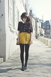 Leeloo P - Top Pepa Loves, Skirt Warmi, Vagabond Shoes - Preppy girl ♥